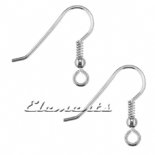 Sterling Silver Earring Hook Wires